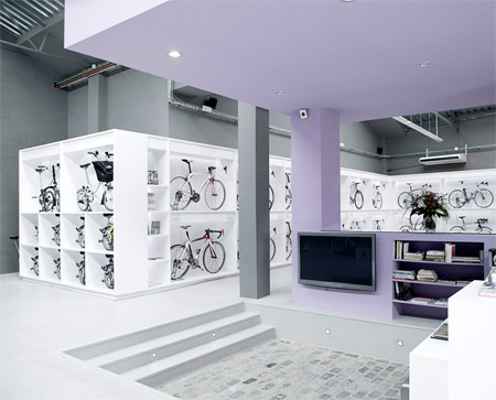 Modern Bicycle Shop