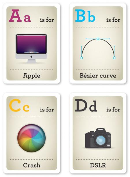 Designer Alphabet