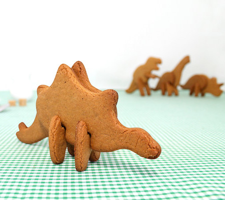 3D Dinosaur Cookie