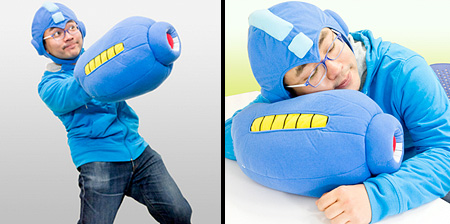 Mega Man Arm Pillow
