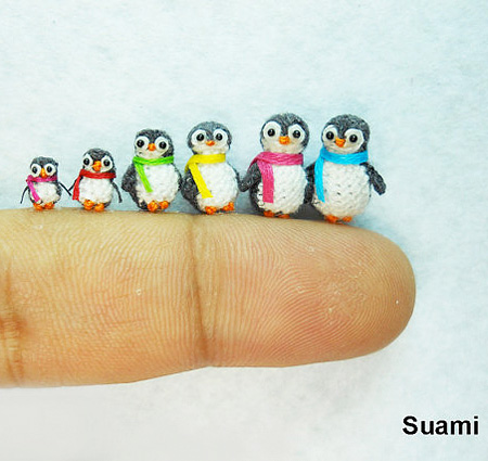 Miniature Crocheted Animals