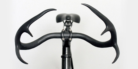Deer Antler Bicycle Handlebar