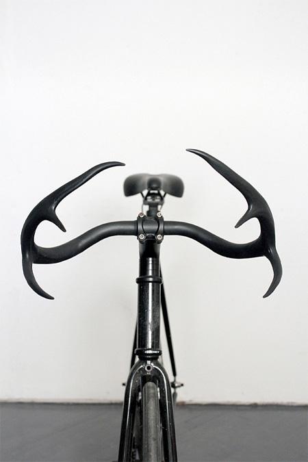 Deer Antler Bicycle Handlebars