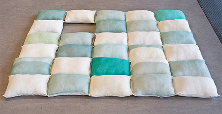 Blanket Made of Pillows