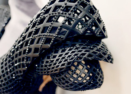 Dita Von Teese 3D Printed Dress