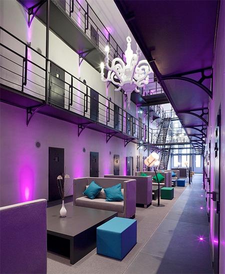 Prison Converted into Hotel