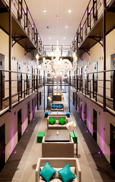 Prison Turned into Hotel