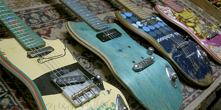 Skateboard Guitars