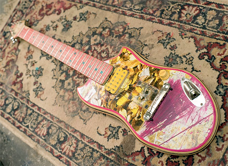 Skateboard Deck Guitars