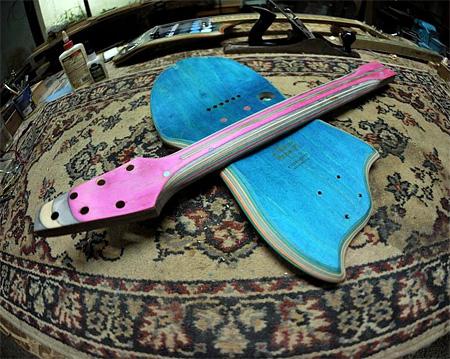 Skate Deck Guitar