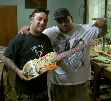 Guitars Made of Skateboards