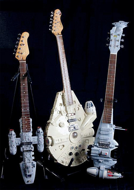 Star Wars Guitars by Tom Bingham