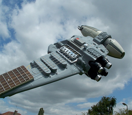 Star Wars Spaceship Guitar