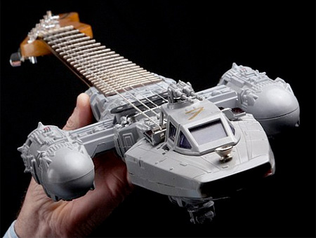 Star Wars Spaceship Guitars