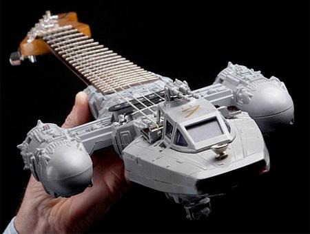 Star Wars Spaceship Guitars