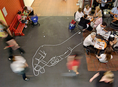 Tape Street Art