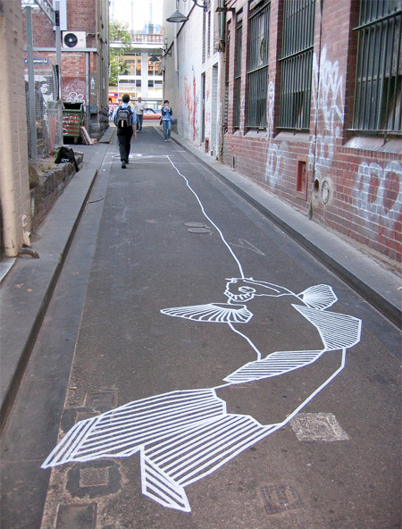 Masking Tape Graffiti