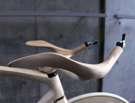 Bike Made of Wood