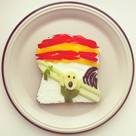 Food Art by Ida Skivenes