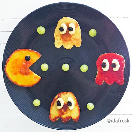 Breakfast Food Art by idafrosk