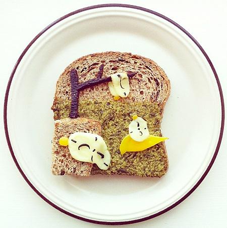 Toast Art by idafrosk