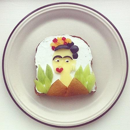 Creative Toast Art