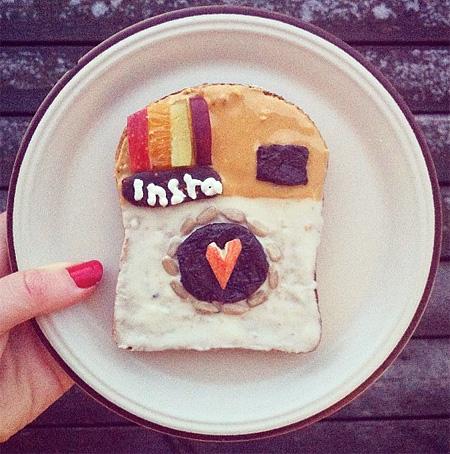 Breakfast Toast Art