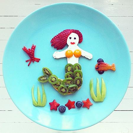 Food Art Plate