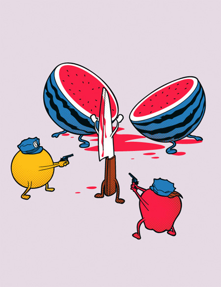 Creative Tee Shirt Illustrations