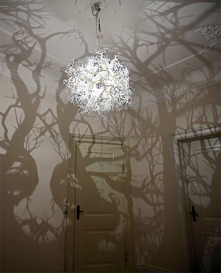 Forest Shadow Lamp