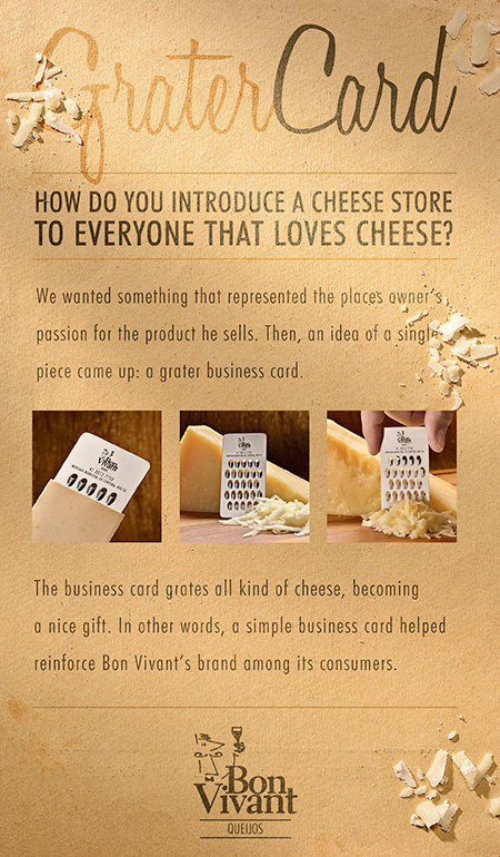 Grater Business Card