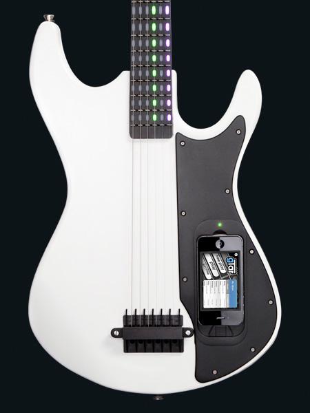iPhone Powered Guitar