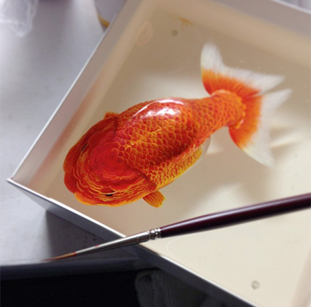 Realistic 3D Paintings
