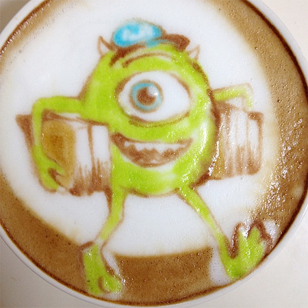 Monsters Latte Art