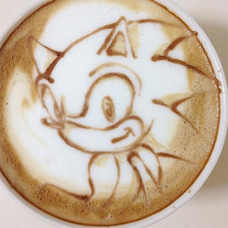Sonic Latte Art