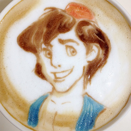 Aladdin Latte Art