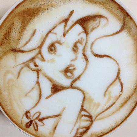 Ariel Latte Art