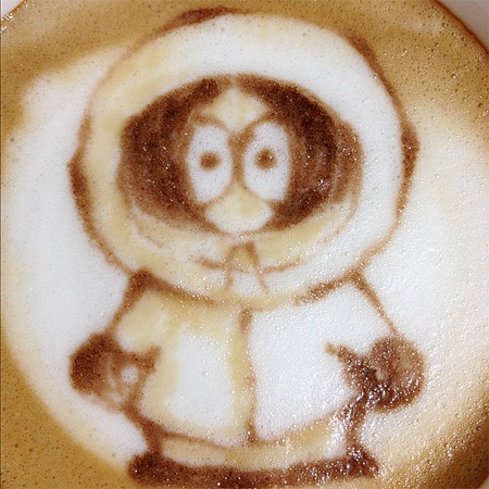 Kenny Latte Art