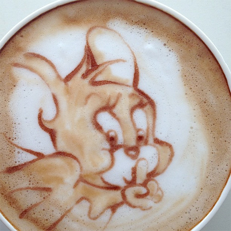Jerry Latte Art