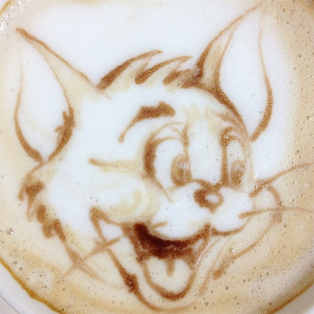 Tom Latte Art
