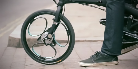 Bicycle Wheels with Suspension