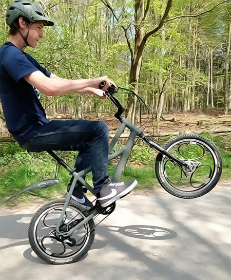 Bicycle Wheel with Suspension
