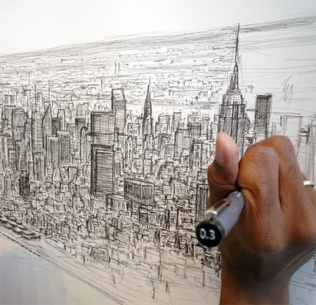 Stephen Wiltshire Draws from Memory