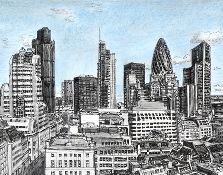 Memory Drawings by Stephen Wiltshire