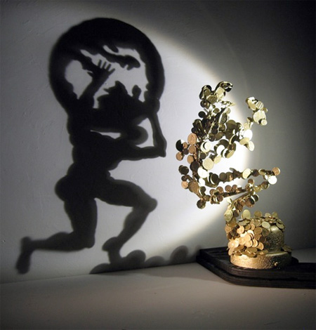 Light and Shadow Sculptures by Diet Wiegman