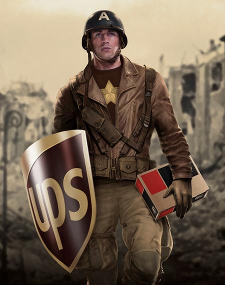 UPS Steve Rogers