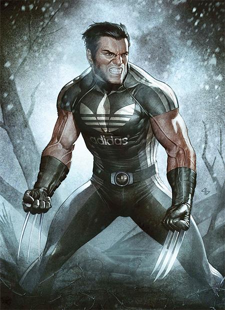 Adidas Wolverine
