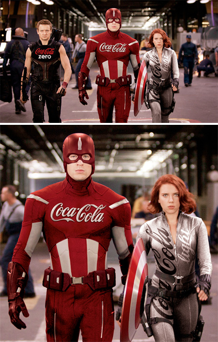 Coca-Cola Captain America