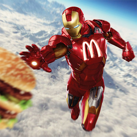 McDonalds Iron Man