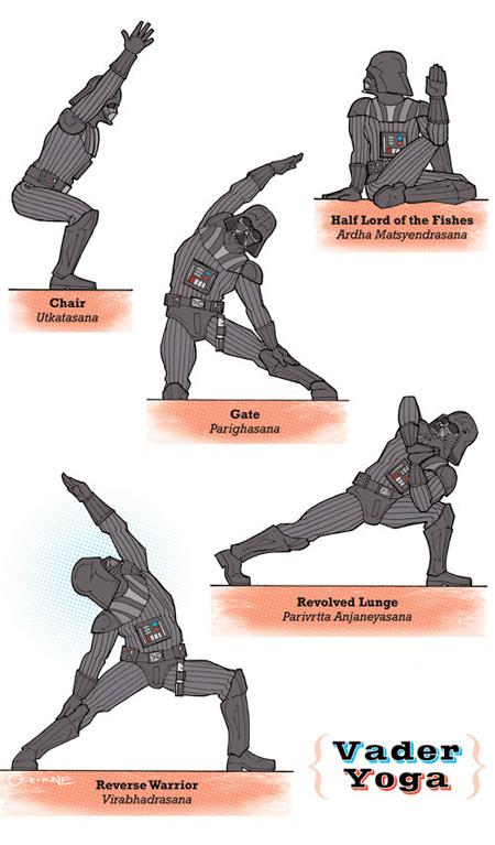 Darth Vader Yoga